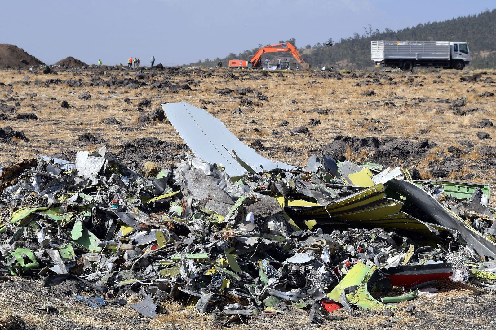 Boeing Trümmer