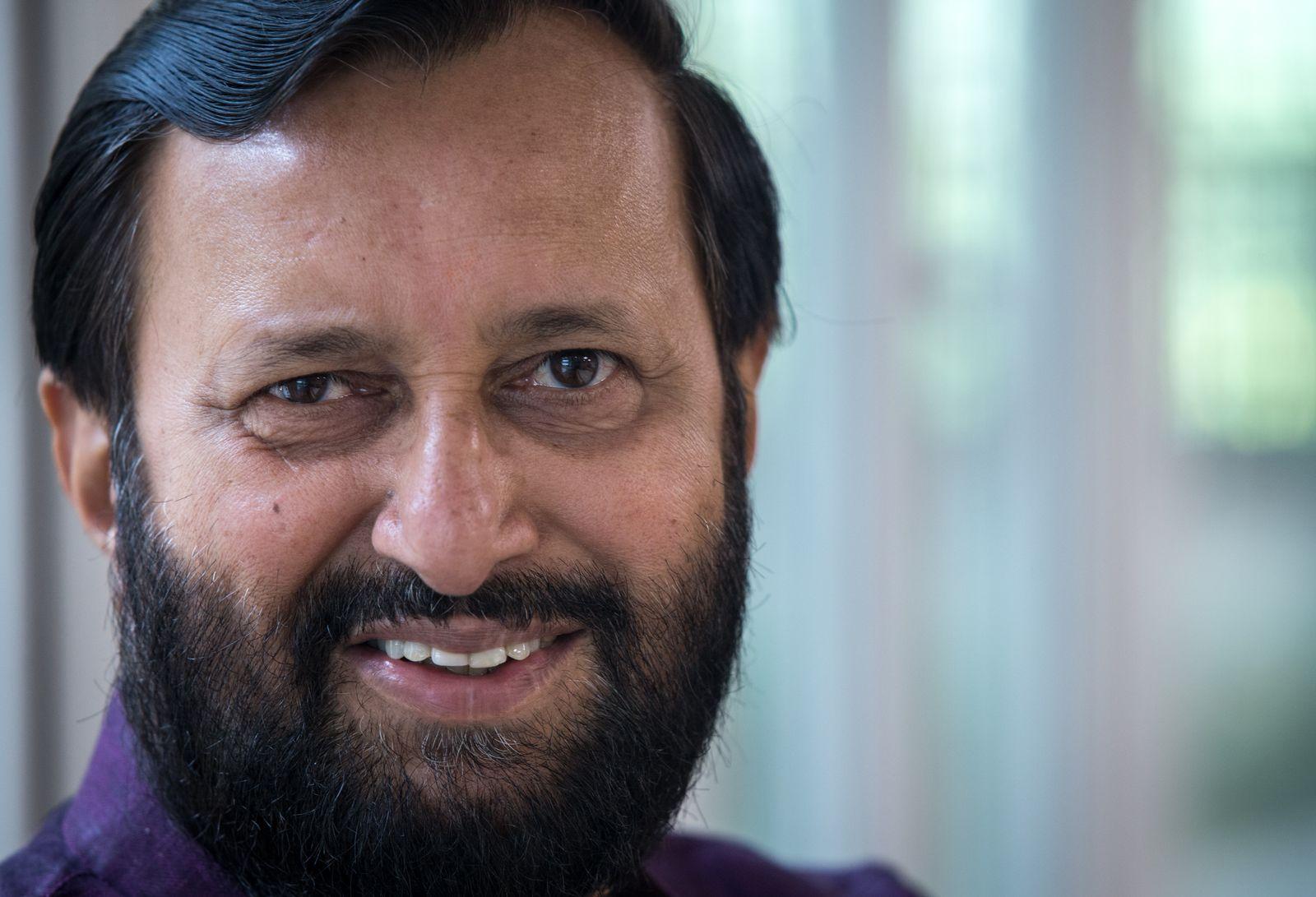 EINMALIGE VERWENDUNG Klimakonferenz/ Prakash Javadekar