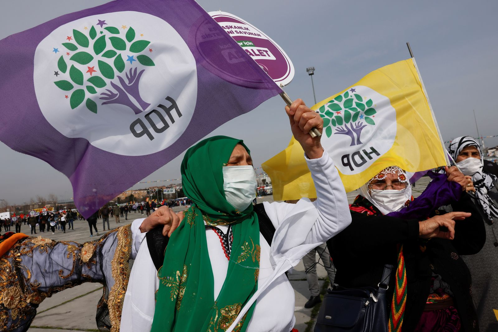 Spring festival of Newroz in Istanbul