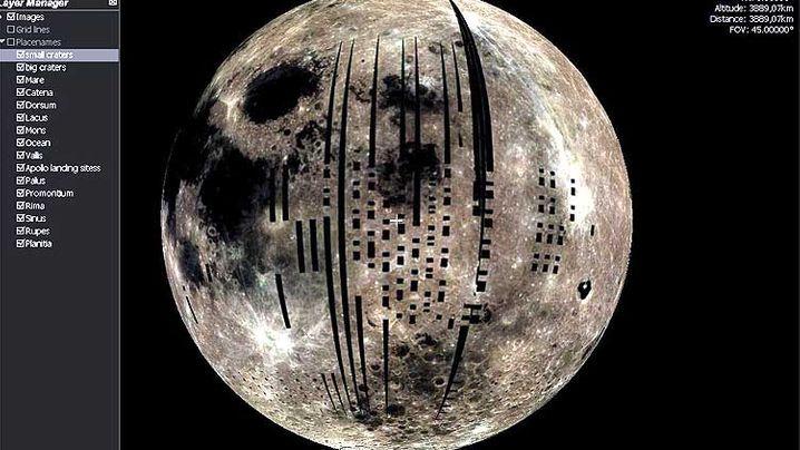 Spektakuläre Bilder: Der Mond in 3D