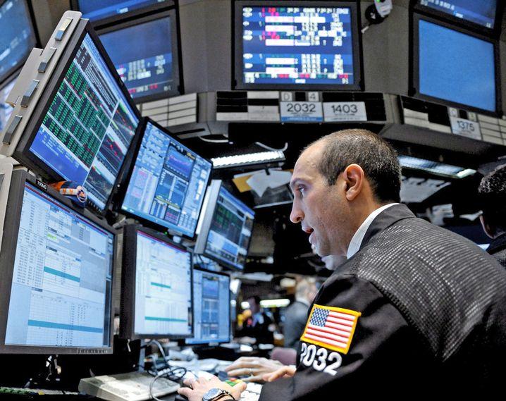 """Börsenhändler in New York: """"Vertrauenskiller"""" zweites Konjunkturpaket"""