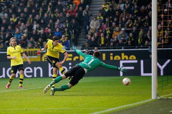BVB-Stürmer Lewandowski: Doppelpack nach Sperre