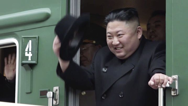 Züge aus Nordkorea: Kims grüne Giganten