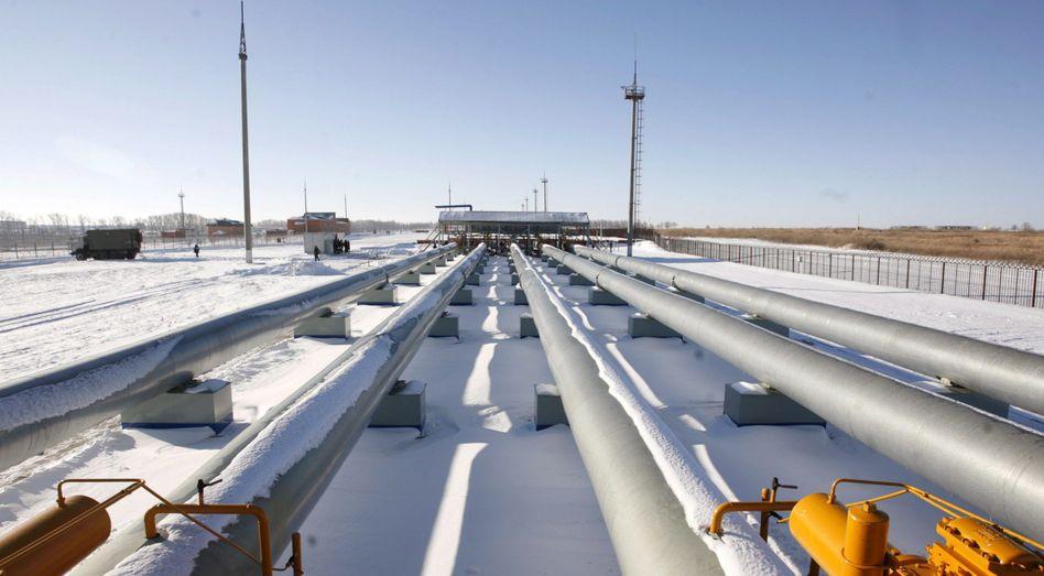 Gasmessstation Sudscha nahe der ukrainischen Grenze: Rohstoffexport