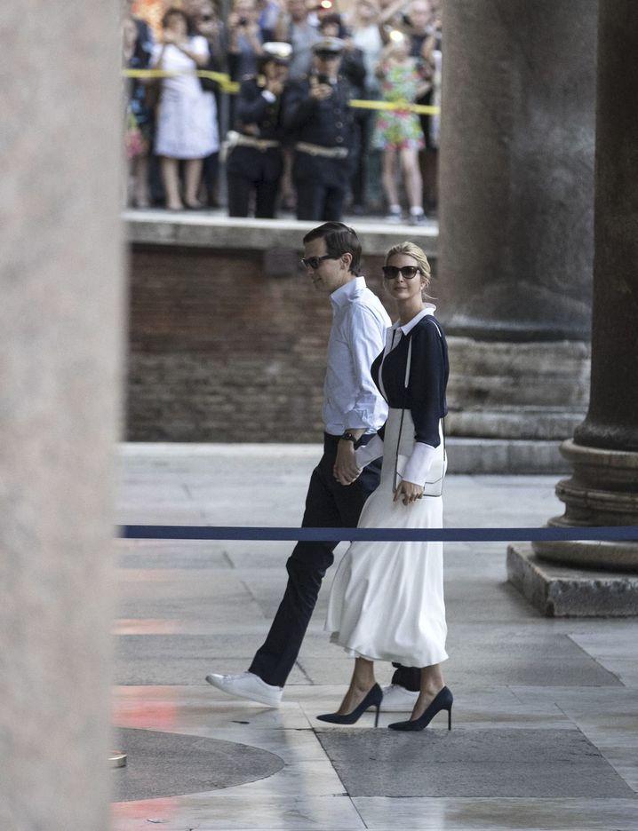 Ehepaar Kushner-Trump in Rom: Nach dem Ausflug in den Orient in der Wirklichkeit gelandet