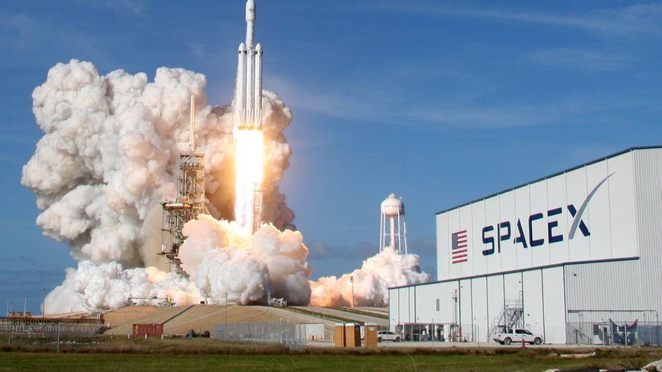Falcon Heavy-Rakete