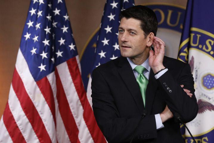 Repräsentantenhaussprecher Paul Ryan