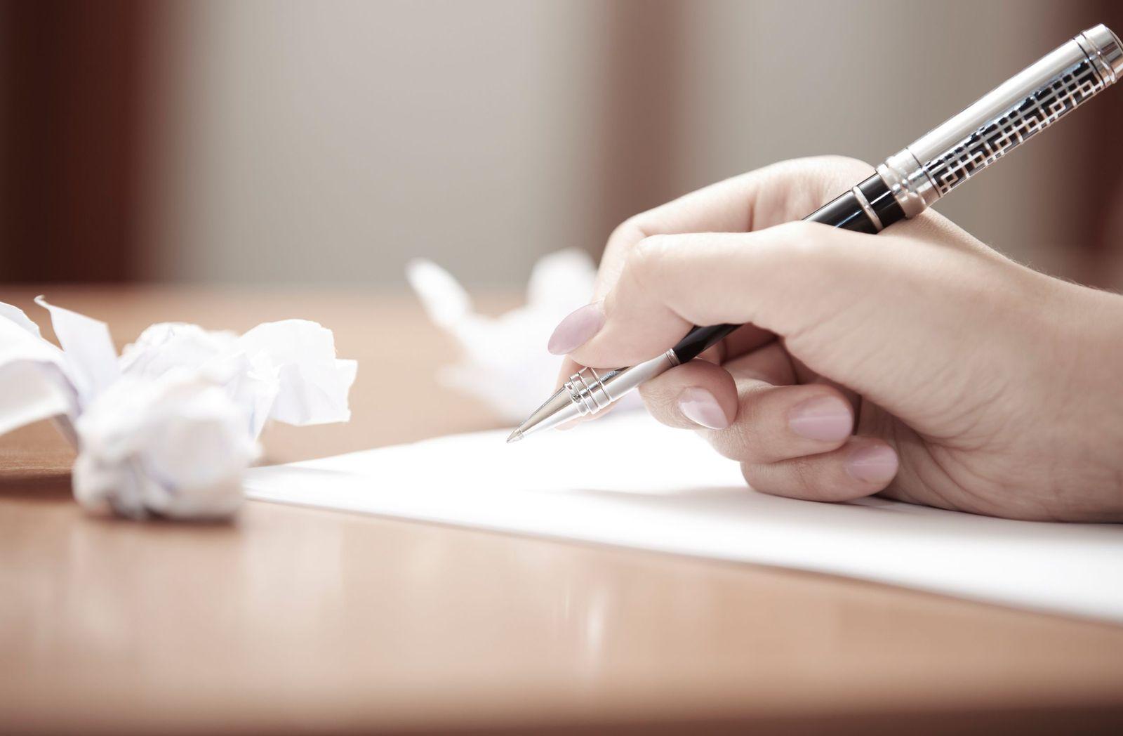 NICHT MEHR VERWENDEN! - Einen Brief schreiben