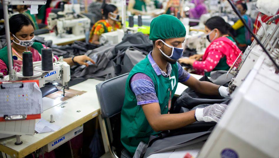 Textilarbeit in Bangladesh