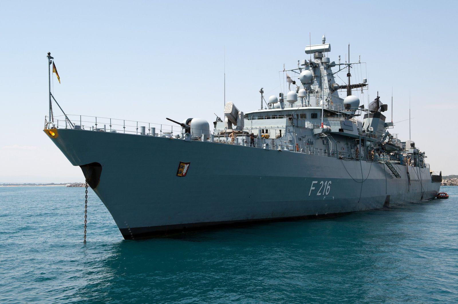 EU Navfor/ Fregatte Schleswig-Holstein