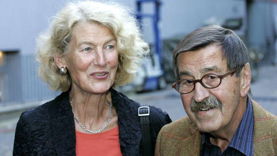 Ute Grass mit Ehemann Günter Grass im Jahr 2006