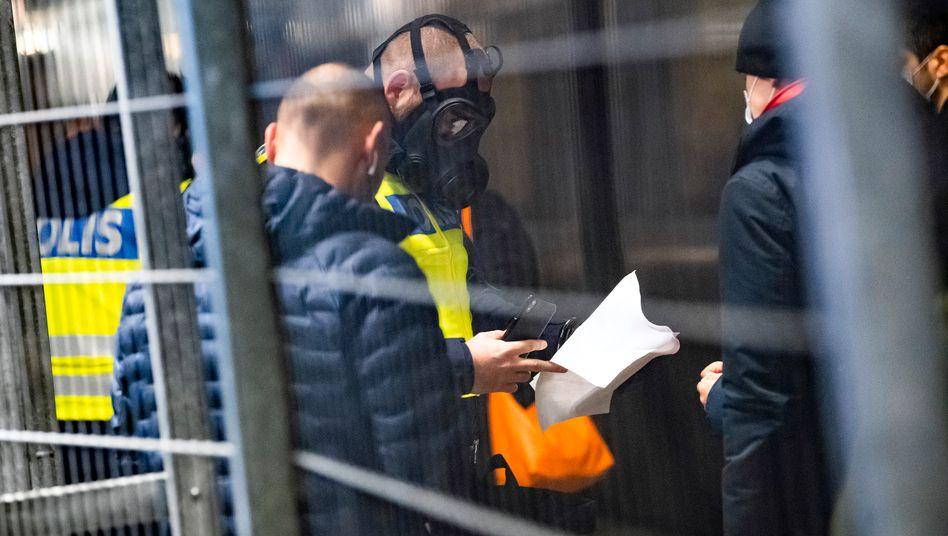 Reisende aus Dänemark werden an der schwedisch-dänischen Grenze kontrolliert