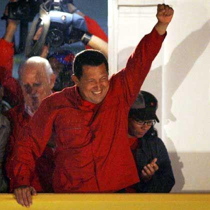"""Wahlsieger Chávez: """"Ich bin das Volk"""""""