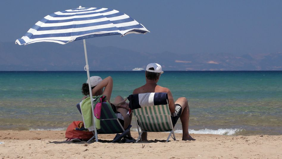 Touristen in Peloponnes: Bleiben die Urlauber weg?