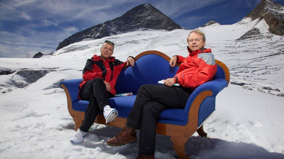 Literatur-Talk mit Herles: Sofa, so good