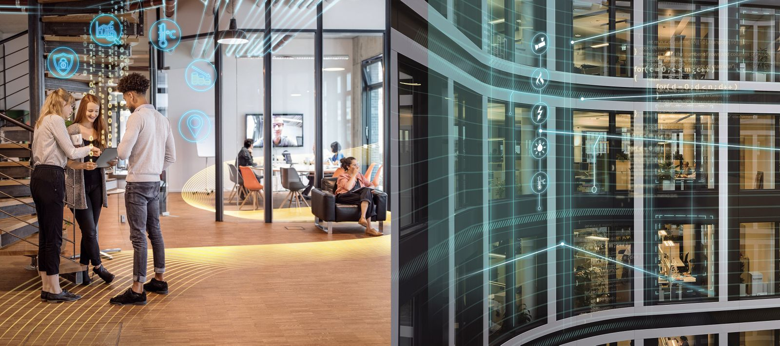 KOMBO Smart building / Smart Office / Siemens