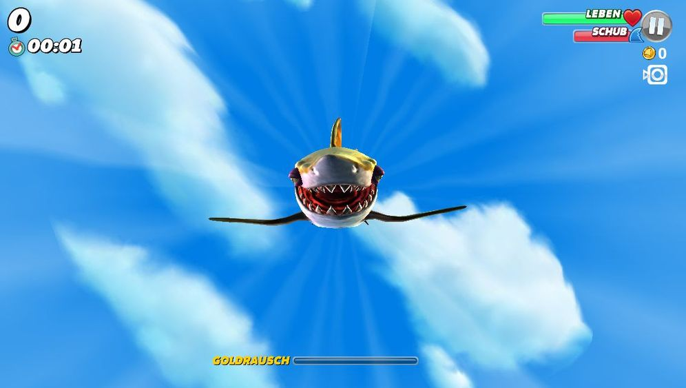 """Hungry Shark World"": Fällt ein Hai vom Himmel"
