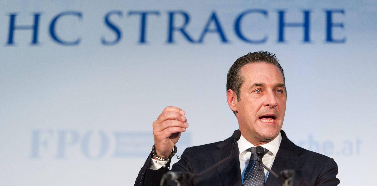 EINMALIGE VERWENDUNG Heinz-Christian Strache