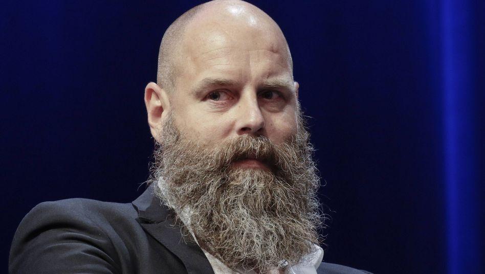 """Holger Friedrich, der neue Herausgeber der """"Berliner Zeitung"""", steht wegen verschiedener Enthüllungen unter Druck"""