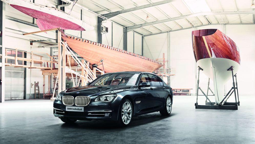 BMW 760 Li Sterling: Der Silberfisch