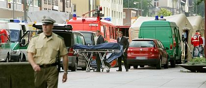 """The scene of the crime in Duisburg: """"An unprecedented settling of scores"""""""