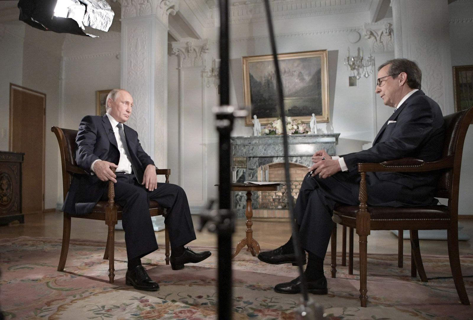 Wladimir Putin Interview Fox News