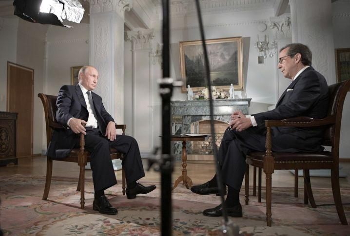 """Putin im Interview mit """"Fox News"""""""