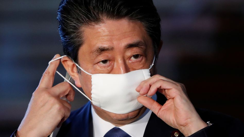 Japans Ministerpräsident Shinzo Abe