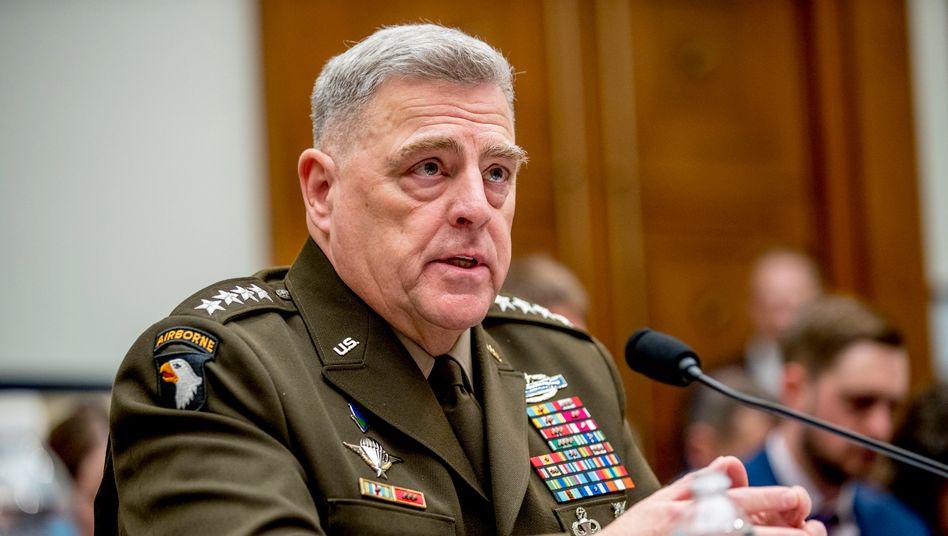 """General Mark Milley: """"Prinzip eines unpolitischen US-Militärs"""""""