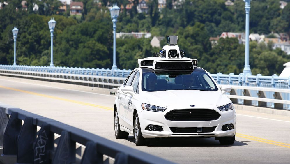Selbstfahrende Autos: Ohne Hände!