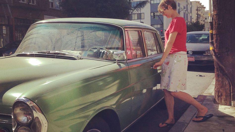 Elena von Saucken: Auf Auto-Entdeckung in San Francisco