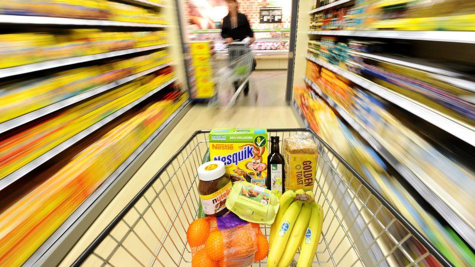 Einkaufswagen: Anstieg auch in diesem Jahr erwartet