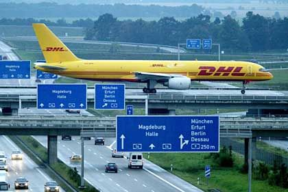 DHL has brought business to Leipzig, but the city still suffers from high unemployment.