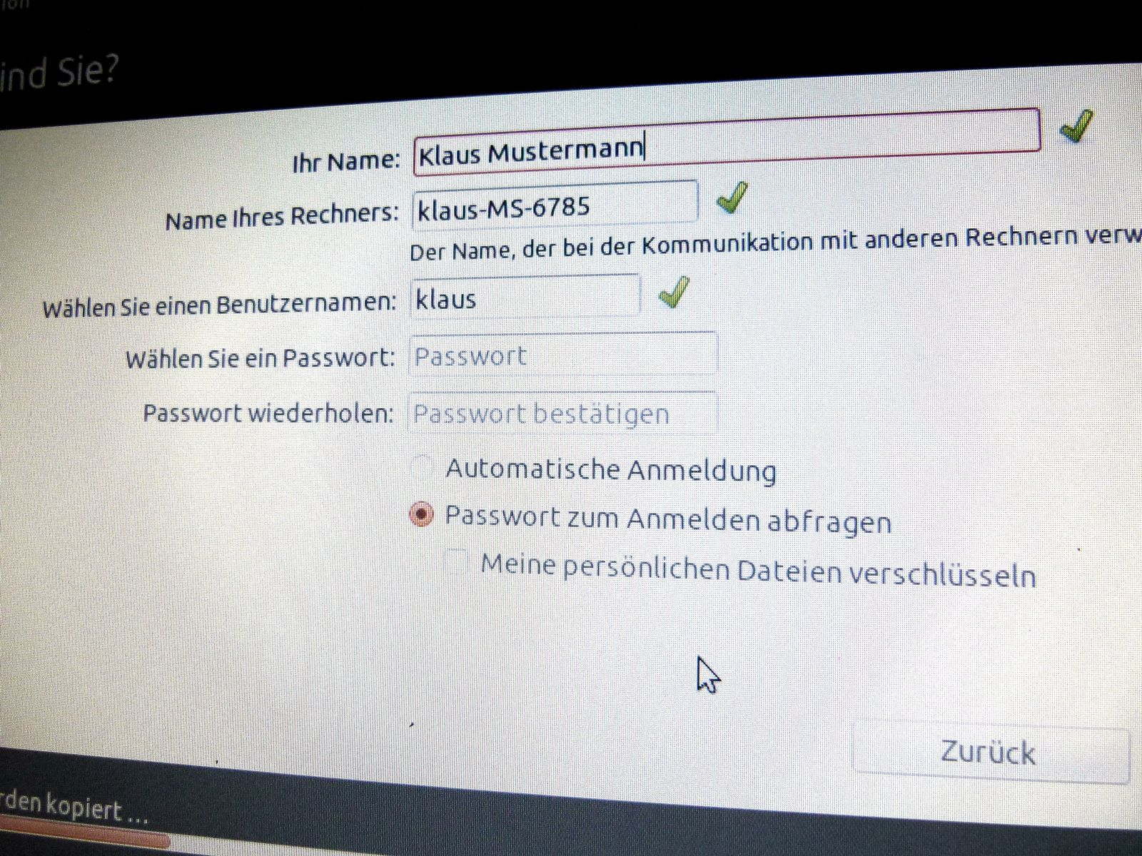 Ubuntu Installation #9