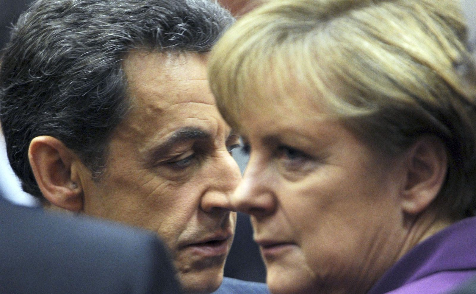 Europe Financial Crisis Merkel Sarkozy