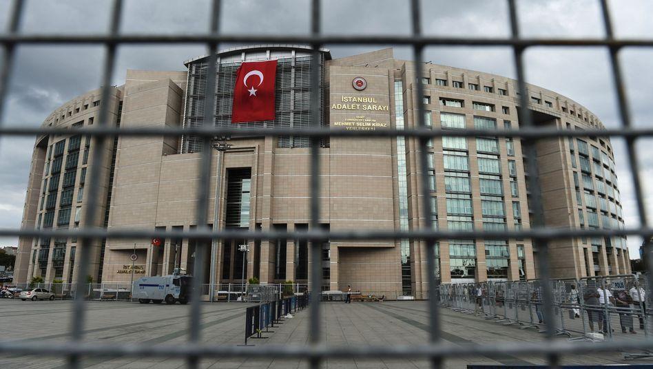 Gerichtsgebäude in Istanbul