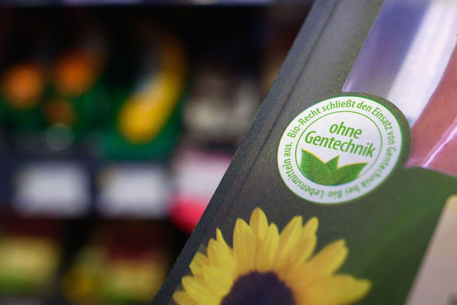 Bio-Lebensmittel ohne Gentechnik