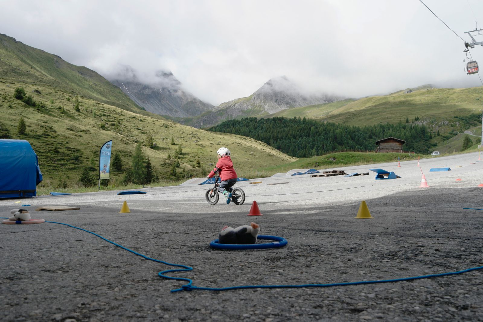 Mountainbike Parcour