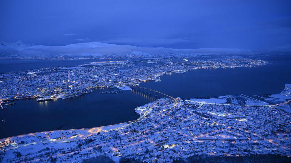 Tromsö (Symbolbild): Zwei Bergsteiger aus der norwegischen Stadt starben bei dem Lawinenunglück