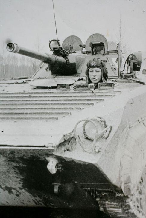 Jemyschew 1978 bei einer Übung