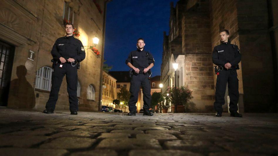 Polizei in Ansbach