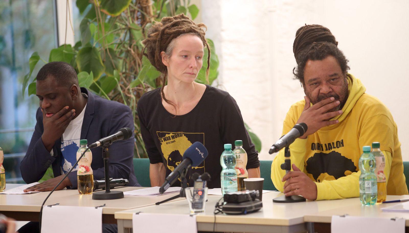 Oury Jalloh/ Pressekonferenz