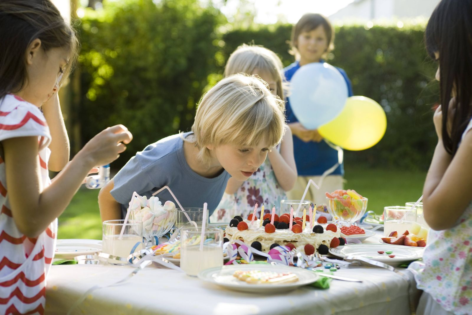 EINMALIGE VERWENDUNG Kindergeburtstag