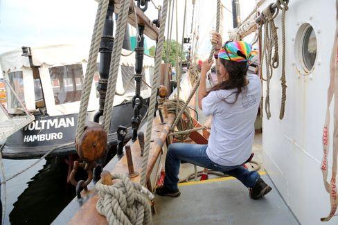 """Peggy Engelmann zeigt, wie sie an Bord mitarbeitete: """"Mein eigener Anspruch an mich selbst hat mich überfordert"""""""