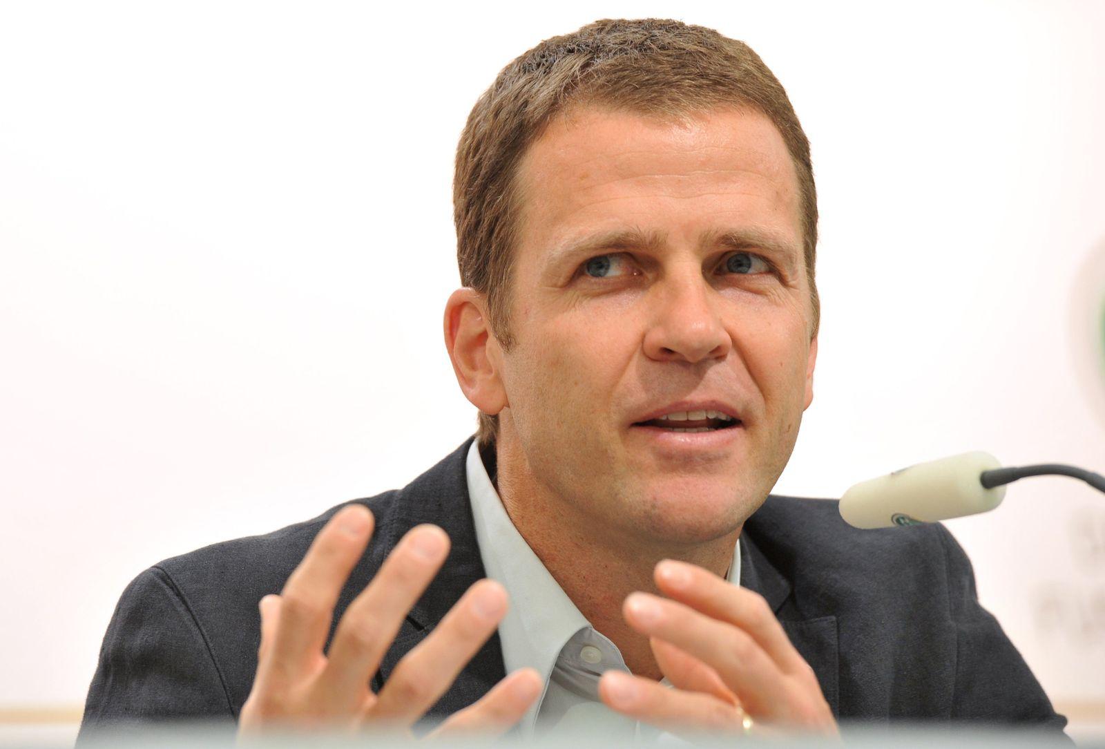 Olver Bierhoff / Pressekonferenz