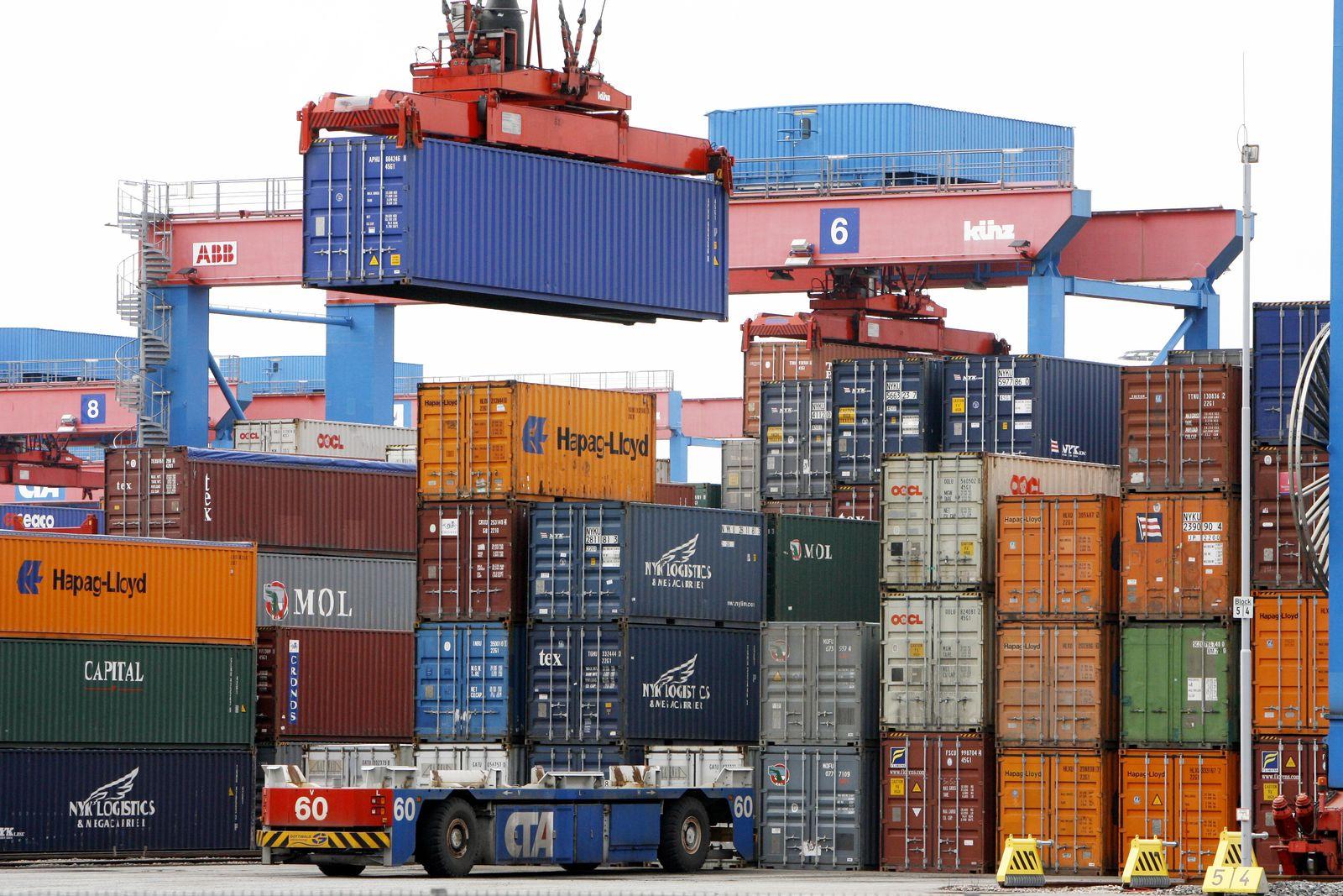 Export / Außenhandel / Container