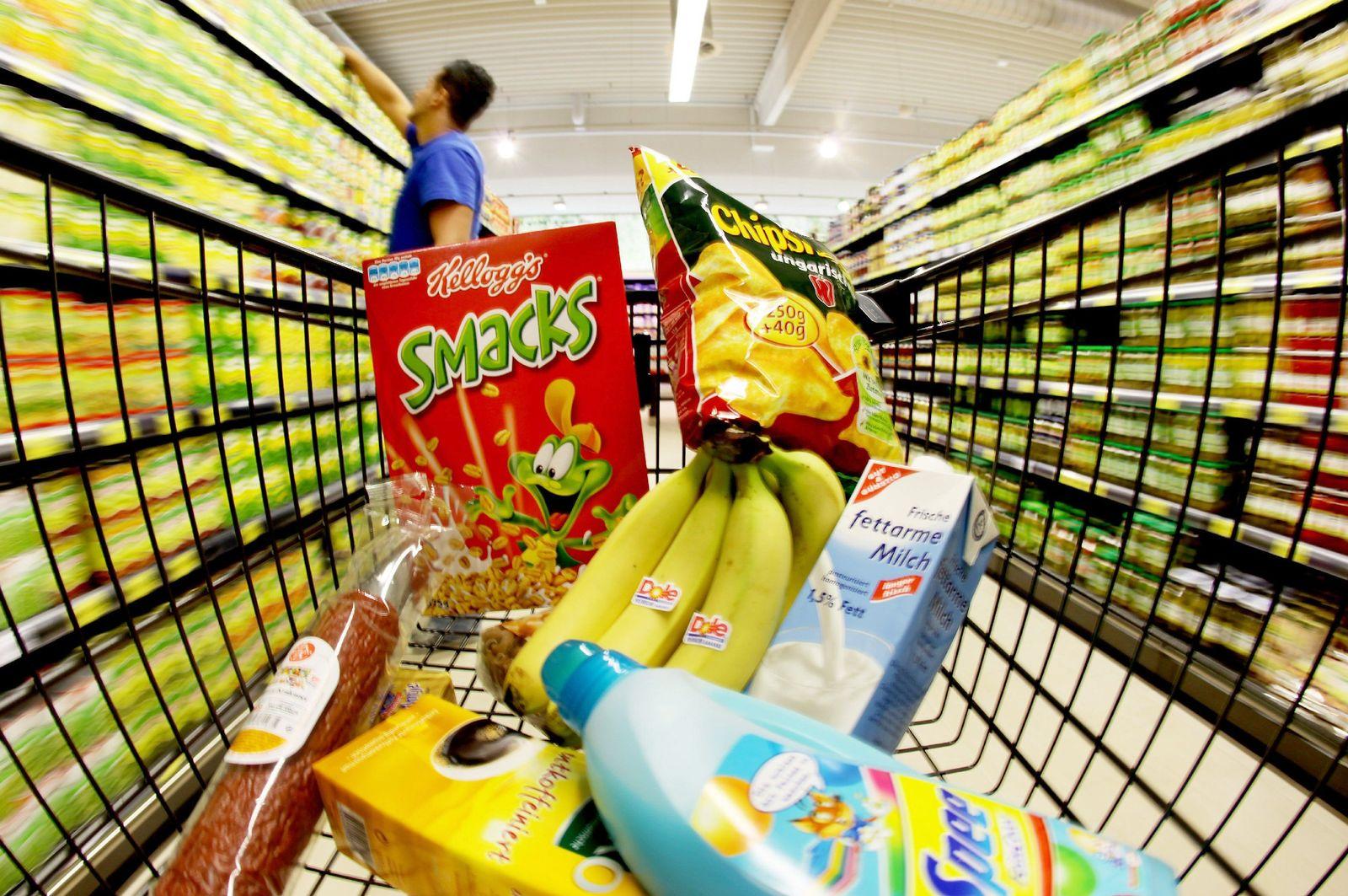 Supermarkt / Einkaufswagen
