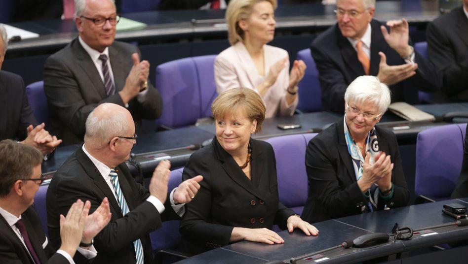 Wahl zur Kanzlerin: Merkel fehlen 42 Stimmen aus der eigenen Koalition