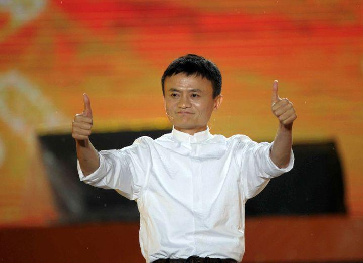 Alibaba-Gründer Ma (im Mai 2013): Vom Lehrer zum Multimilliardär.