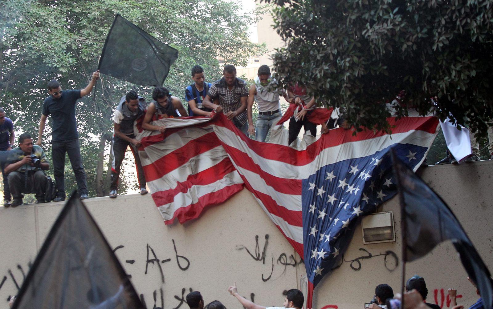 Protest in Kairo / US-Botschaft